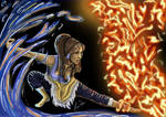 Korra - Water and Fire