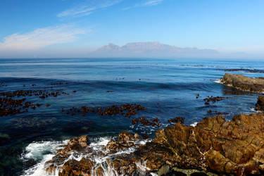 Robben Island View by Lauren-Paikin