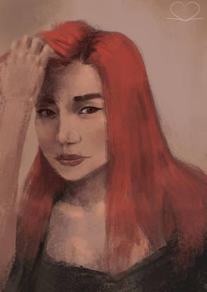 Portrait - Tereza by SVeet-Artist
