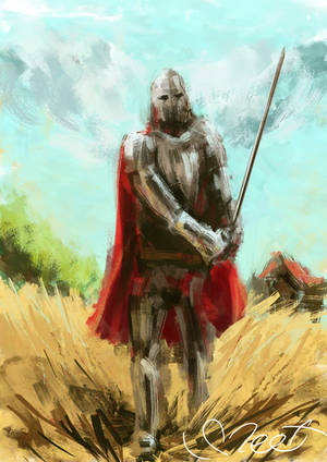 Knight by SVeet-Artist
