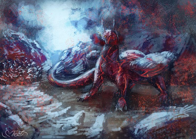 Request for CrimsonVampiress by SVeet-Artist