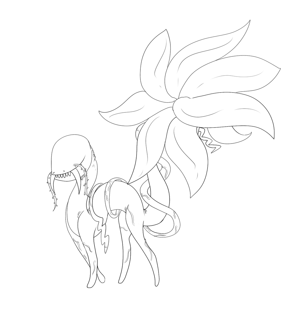Plant Beast Species Concept by Radicalhat