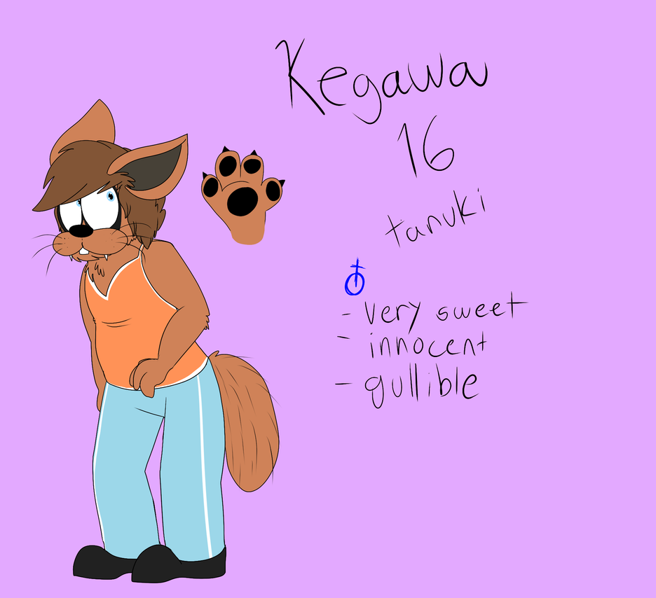 Kegawa aka MY SON by Radicalhat