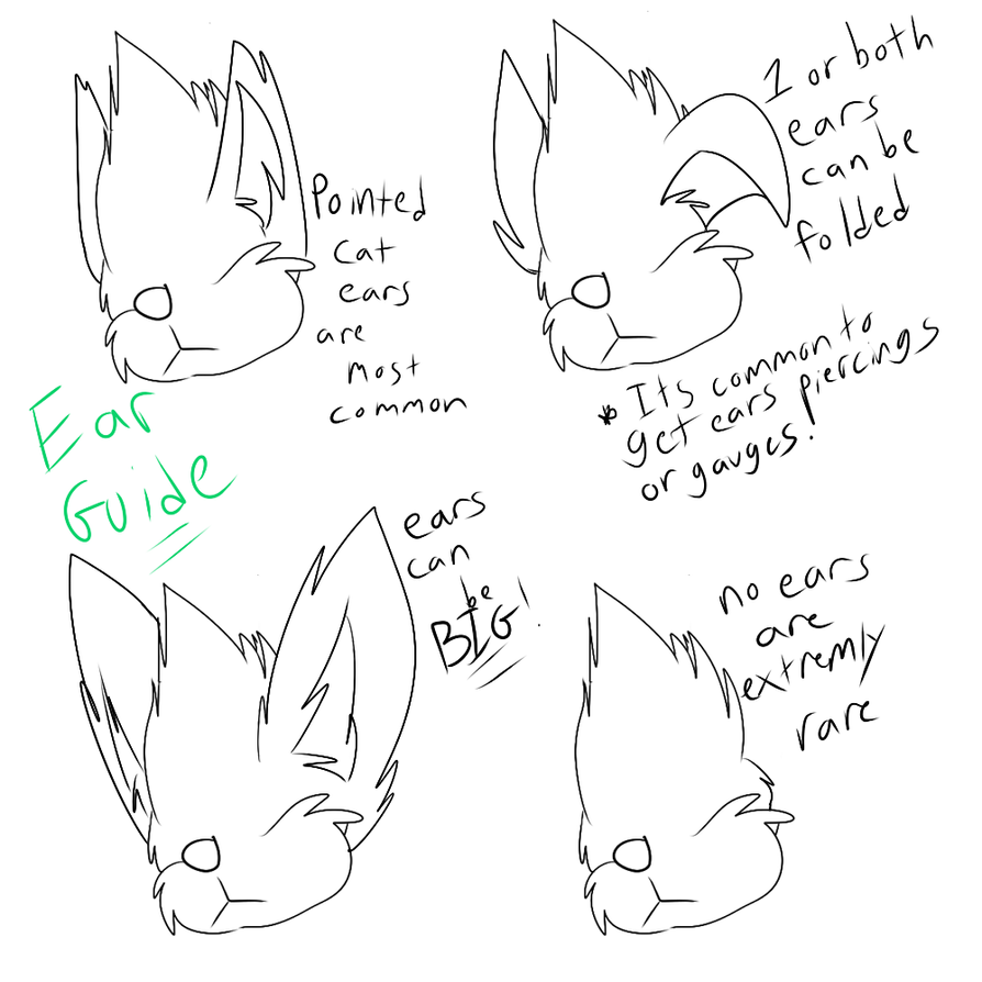 Squanch Ear Guide by Radicalhat