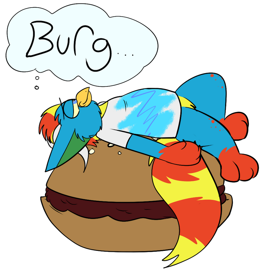 Thinkin Bout That Burg by Radicalhat