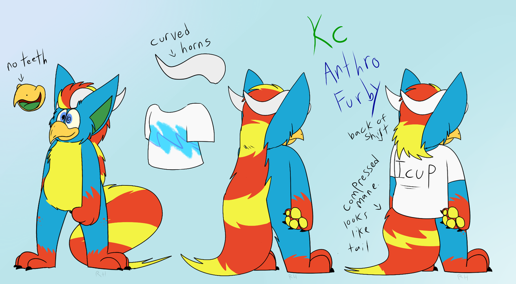 KC Furby Turnaround by Radicalhat