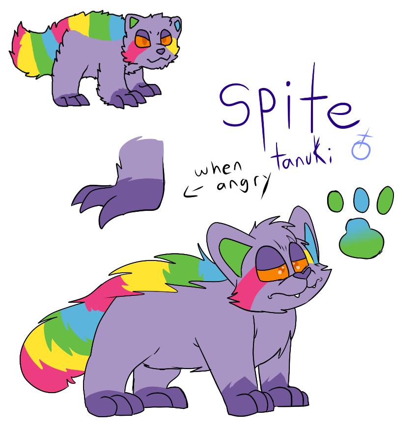 Spite The Tanuki by Radicalhat