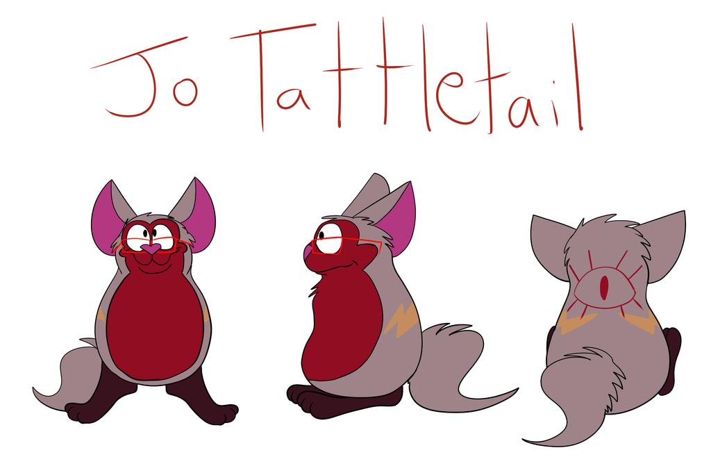 Custom Tattletail - Jo Tattletail by Radicalhat