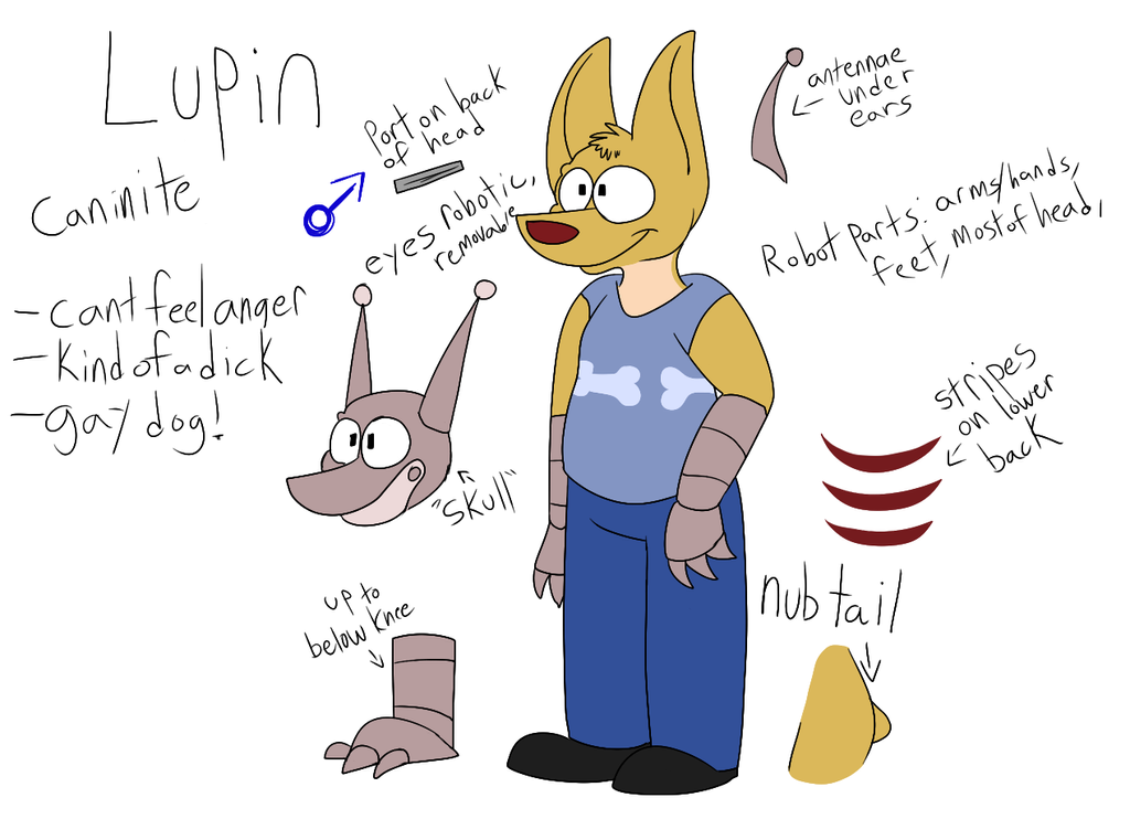 Lupin Ref by Radicalhat