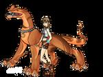 Reika in Dragon Booster
