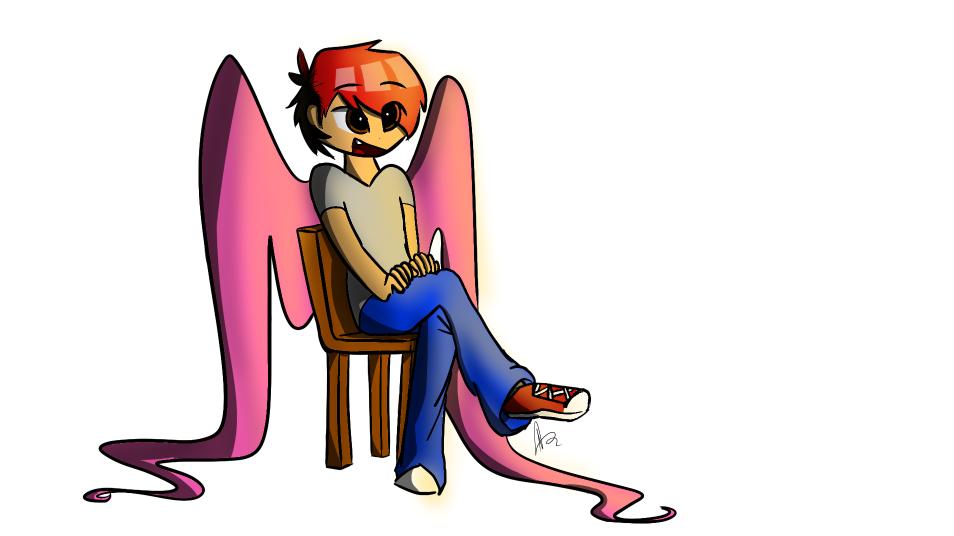 sitting... by AVeryMerryPony