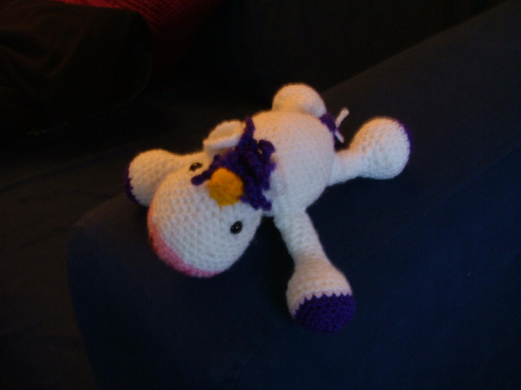 Unicorn Amigurumi Yarn Yard : Yarn Yard Unicorn by keiara-death on DeviantArt
