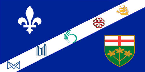 Flag of the Quebec City-Windsor Corridor