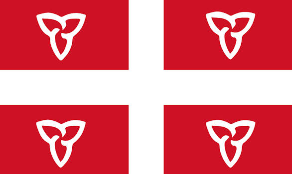 Quebec Style Redesign of Ontario's Flag