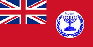 Flag of British Territory of Israel.