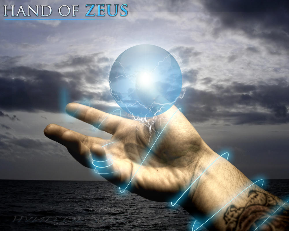 Hand of Zeus by shagge2