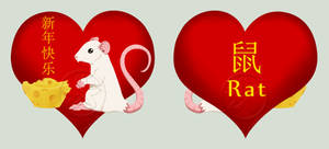 Chinese New Year Rat by MaeMaeTwin