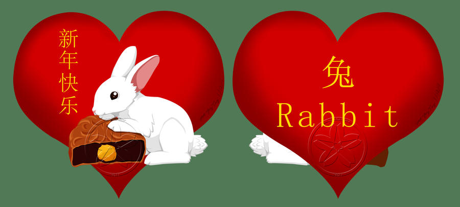 Chinese New Year Rabbit by MaeMaeTwin on DeviantArt