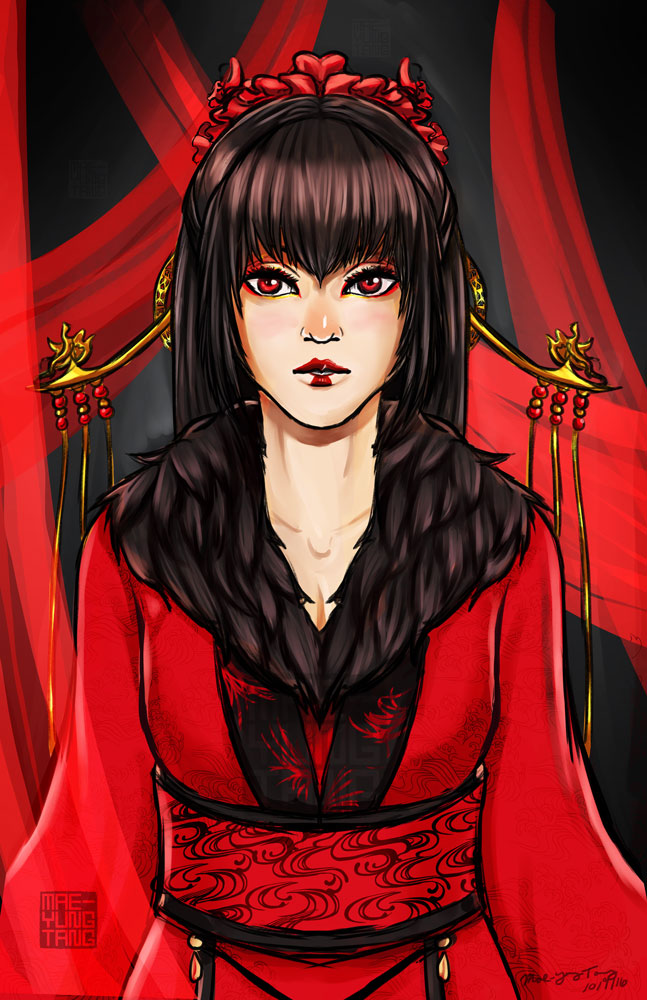 Red Queen by MaeMaeTwin
