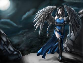 Angel (Redraw) by MaeMaeTwin