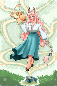 Tea Dragon Society- Chamomile and Minette