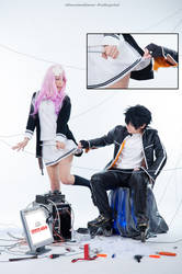 Air Gear | Pervert crow by MinamiKing