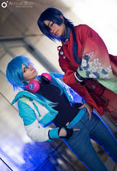 DRAMAtical murder | Aoba and Koujaku by MinamiKing