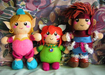 Secret of Mana gang by prismtwine