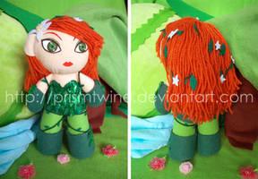 Pretty Ivy plushie by prismtwine