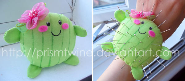 Cactus pin cushion by prismtwine