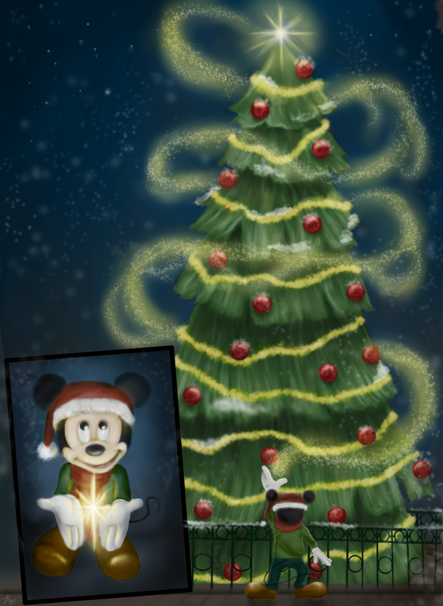 Lighting the Tree by SarahSchreck
