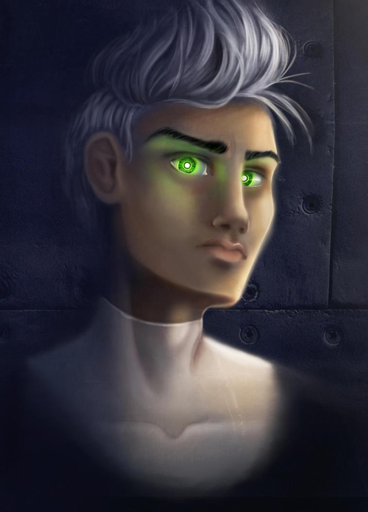 Ghost Kid by SarahSchreck