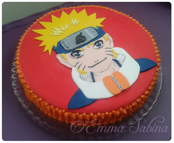 Naruto Cake by EmmaSabina on DeviantArt