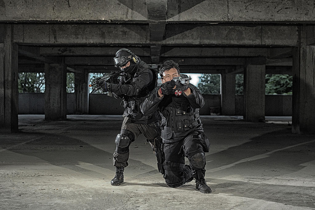Excepcional Umbrella Corporation Force Cosplay by gennyfurqiza on DeviantArt PR96