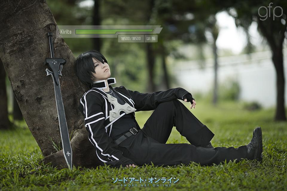 Sword Art Online Cosplay - Sleeping Kirito by gennyfurqiza ...
