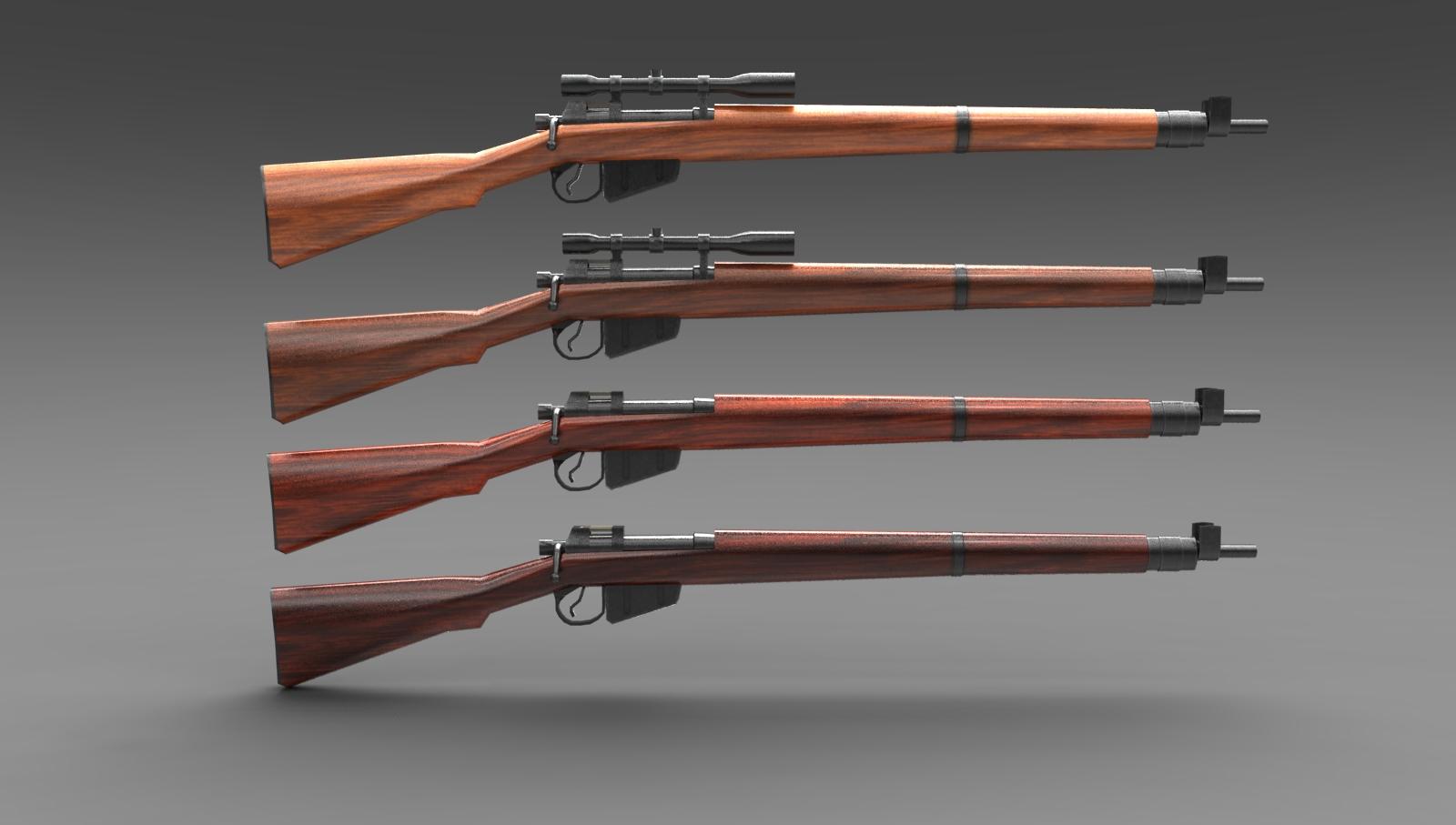 Lee-Enfield Gewehr englisches Infanteriegewehr No4