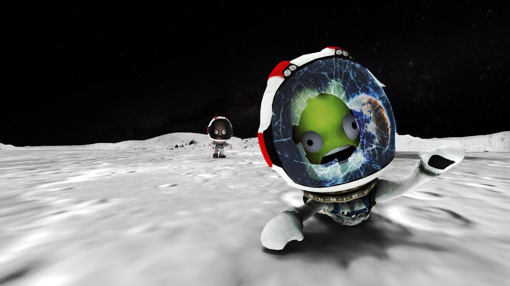 KSP (Kerbal Space Program) Fan Art by 01DawG10 on DeviantArt