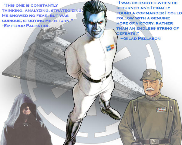 Grand Admiral Thrawn by Kwindu