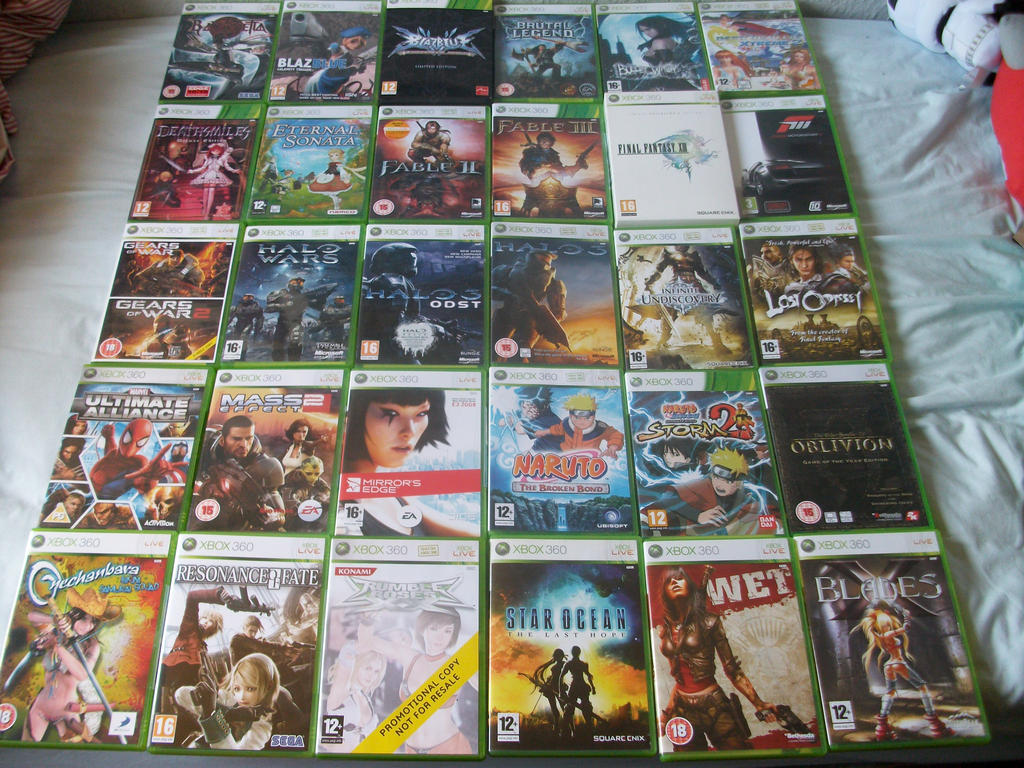 Xbox 360 Games Collection Xbox 360 Games Collect...