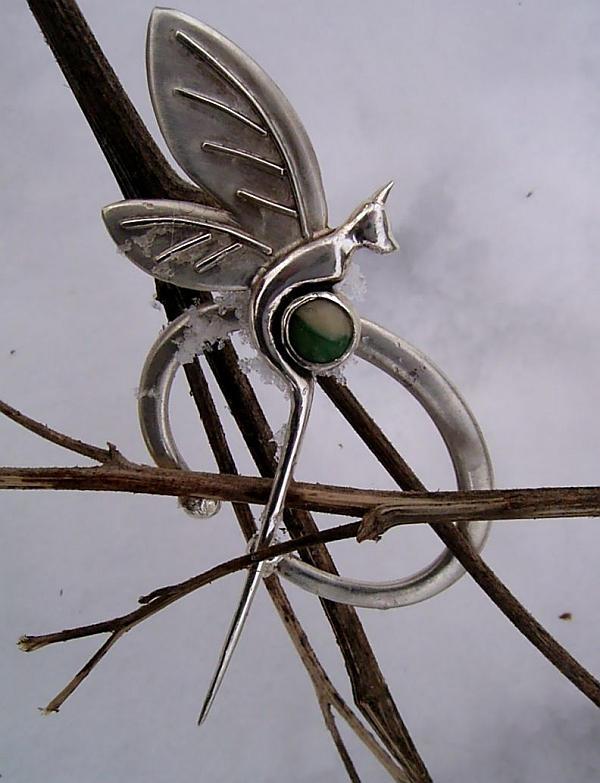 Faerydragon brooch ::new pic:: by Shailin