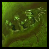 Elemental Dragon V4: EARTH by Pseudolonewolf