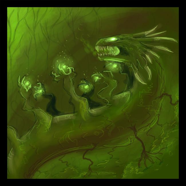 Elemental Dragon V4: EARTH by Pseudolonewolf on DeviantArt