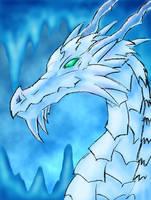 Icewyrm by Pseudolonewolf