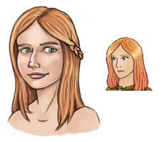 MARDEK Portraits 9: Gloria by Pseudolonewolf