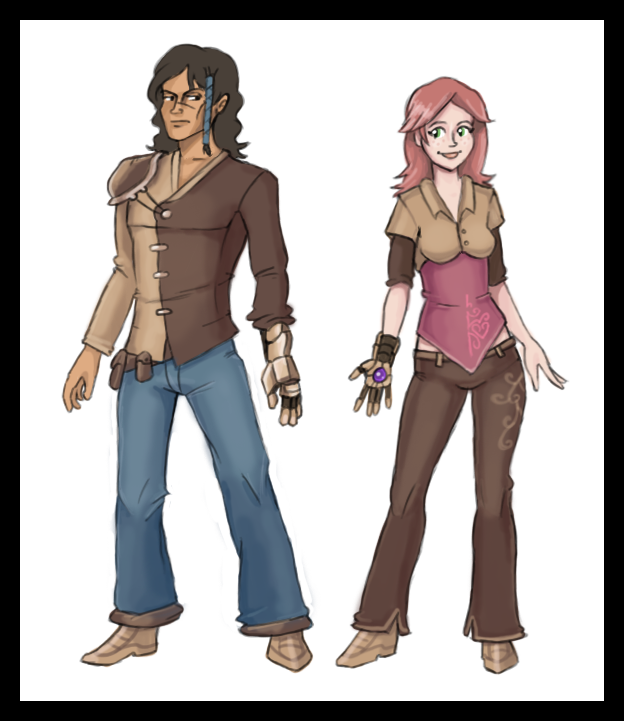 Zaffre and Cerise 3 by Pseudolonewolf
