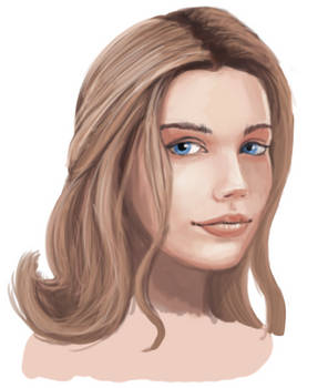 Generic Female Face 3