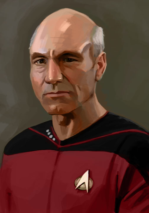 Jean Luc Picard by Pseudolonewolf on DeviantArt