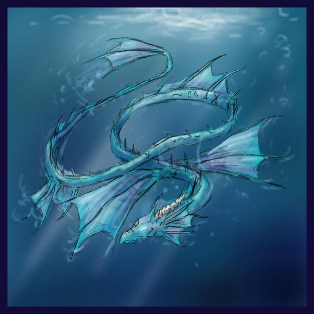 Crónicas de un Mago: Conociendo a su Dragón Elemental_Dragon__Water