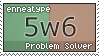 Enneatype 5w6 Stamp by Pseudolonewolf