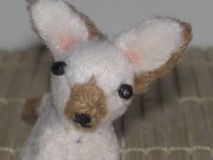Siam a Siamese Inspired Chihuahua mini plush
